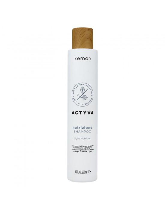 Kemon Actyva, Nutrizione Shampoo, Szampon do włosów przesuszonych i szorstkich 250ml