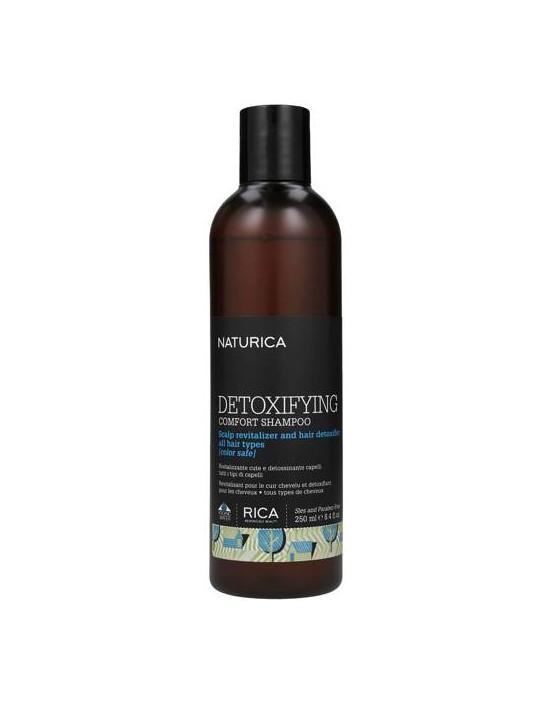 Szampon Rica Detoxifying Comfort, szampon detoksykujący do każdego rodzaju włosów