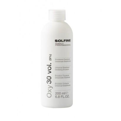 Krem aktywujący, utleniacz Solfine 9% 200 ml