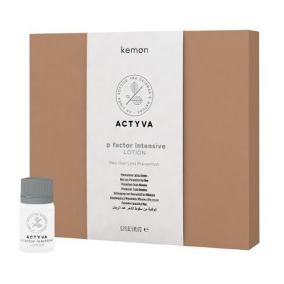 Kemon Actyva P Factor Lotion, lotion przeciw wypadaniu włosów dla mężczyzn