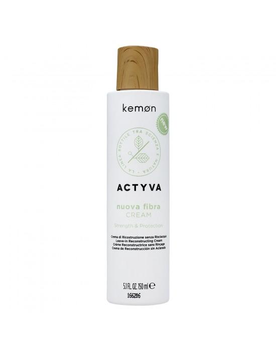 Kemon Actyva Nuova Fibra, Krem odbudowujący bez spłukiwania 150ml