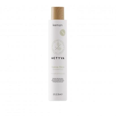 Kemon Actyva Nuova Fibra, Szampon odbudowujący 200 ml