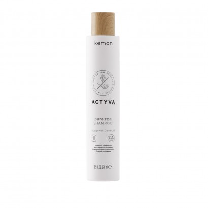 Kemon Actyva Purezza VC, Szampon do włosów z łupieżem 250 ml