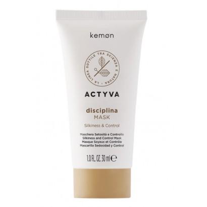 Kemon Actyva Disciplina Mask, Maska dyscyplinująca do włosów 200ml