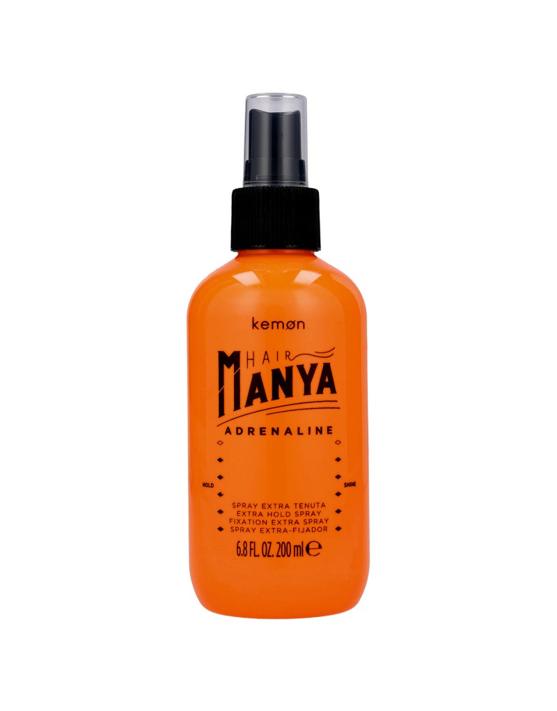Kemon Hair Manya, Adrenaline Spray, spray bardzo mocno utrwalający 200 ml