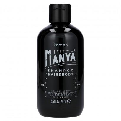 Kemon Hair Manya, Hair&Body Shampoo, Szampon do włosów i ciała 250 ml