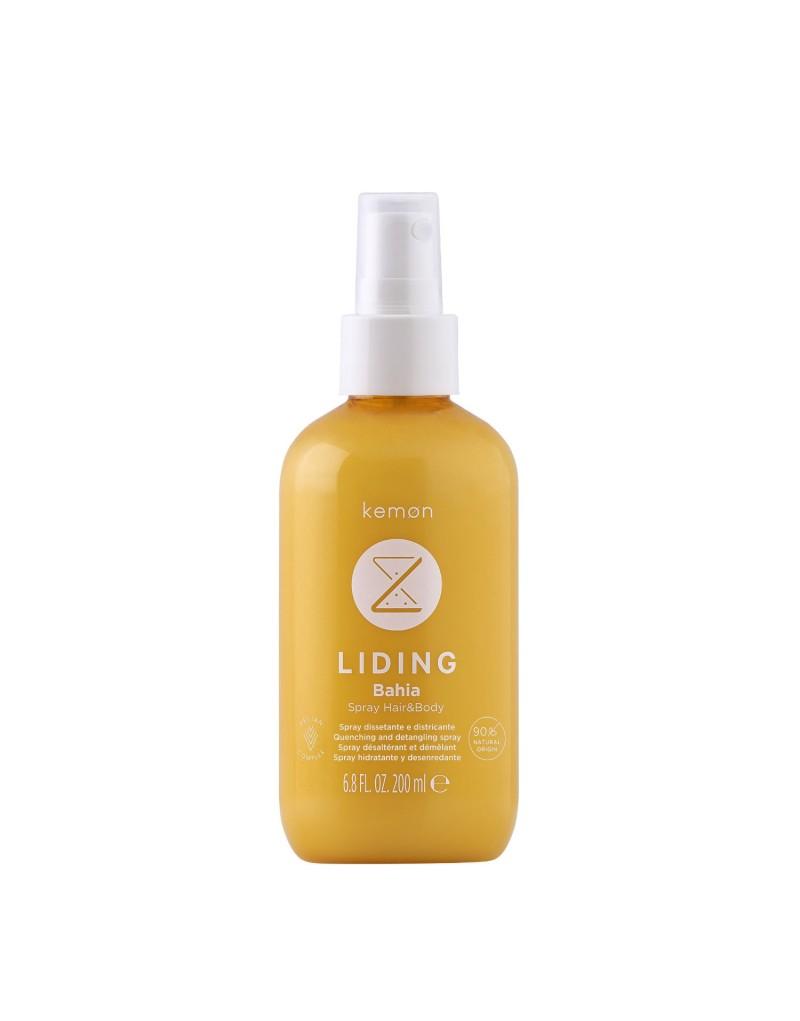Spray Kemon Liding Bahia VC, spray chłodzący po opalaniu do włosów i ciała