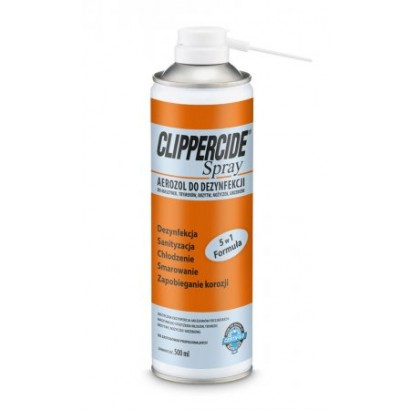 Barbicide Clippercide, spray do dezynfekcji i smarowania maszynek do włosów, 500ml