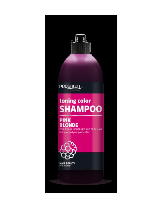 Prosalon Pink Blonde szampon tonujący – pastelowy róż