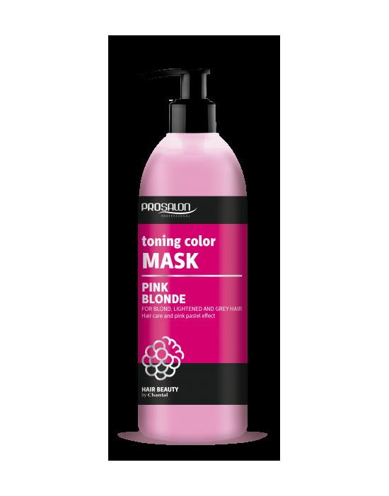 Prosalon Pink Blonde Maska tonująca kolor – pastelowy róż