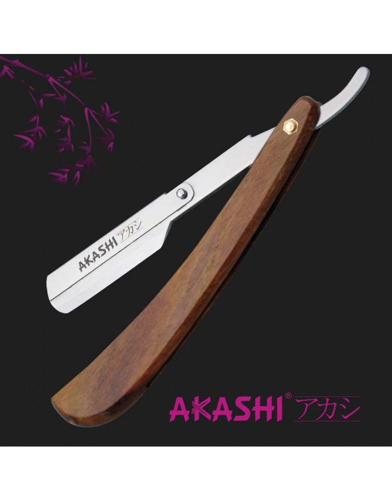 Brzytwa klasyczna drewniana Barber RC-RM02 Akashi