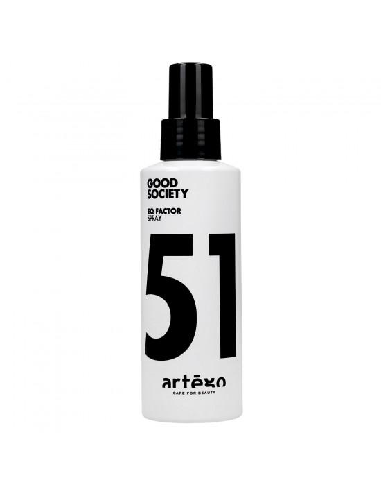 Odżywka uniwersalna w sprayu, bez spłukiwania EQ FACTOR, Good Society 51 Artego