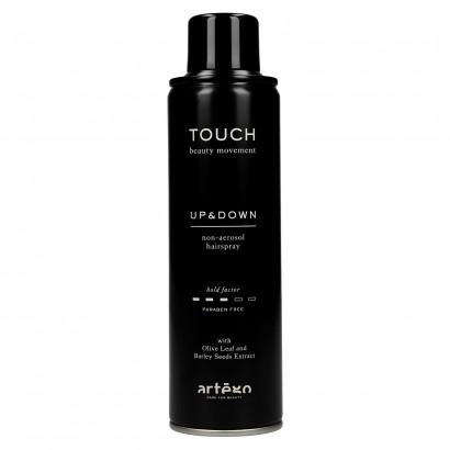 Lakier do włosów UP & DOWN 250 ml bez gazu Artego Touch