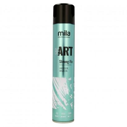 Lakier BE ART Strong Fix Mila Professional, Lakier mocno utrwalający 500 ml