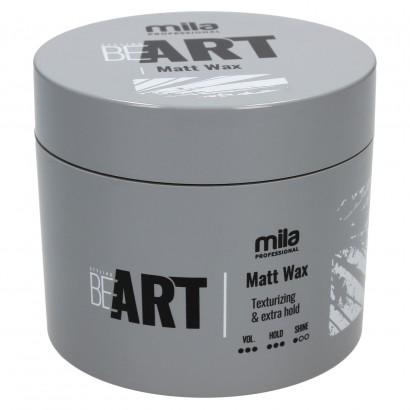 Wosk BE ART Matt Wax Mila Professional, Wosk matujący 100 ml