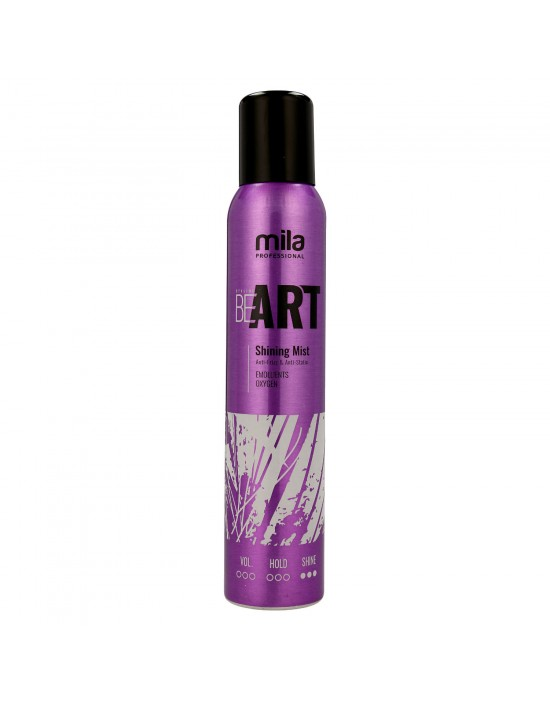 Mgiełka BE ART Shining Mist Mila Professional, Mgiełka nabłyszczająca 200 ml