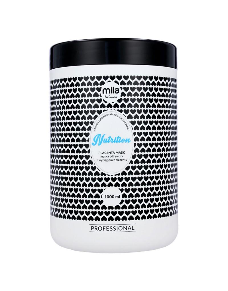 Maska Placenta Mila Professional przeciw wypadaniu włosów, Nutrition Placenta Mask