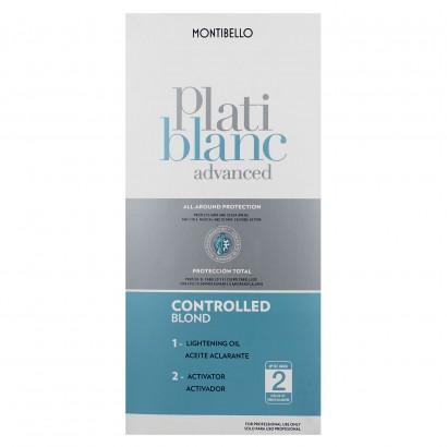 Rozjaśniacz do włosów Platiblanc Advanced Controlled Blond Montibello