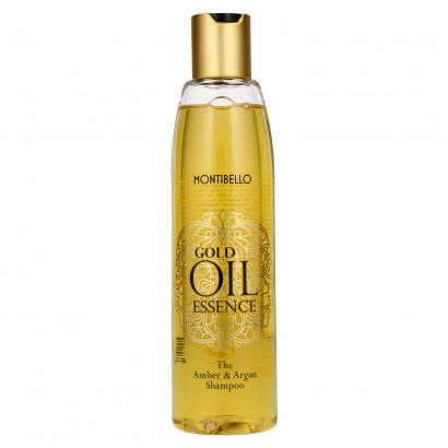 Szampon 250 ml do włosów bursztynowo - arganowy Gold Oil Essence Montibello