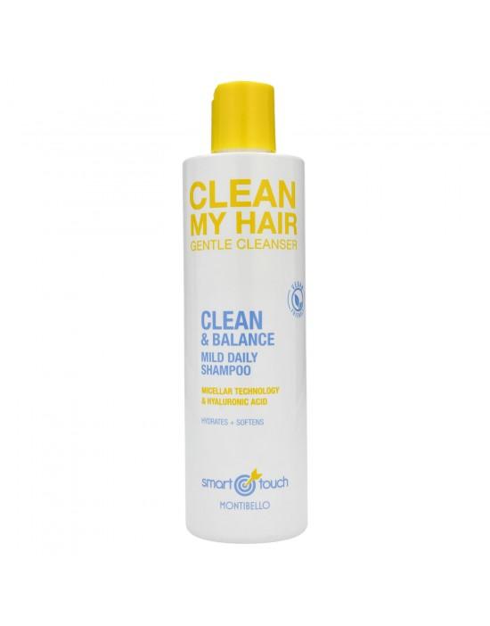Oczyszczający szampon micelarny do włosów Smart Touch Clean My Hair Montibello