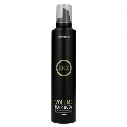 Decode Volume Hair Body, bardzo mocna pianka do włosów nadająca objętość Montibello