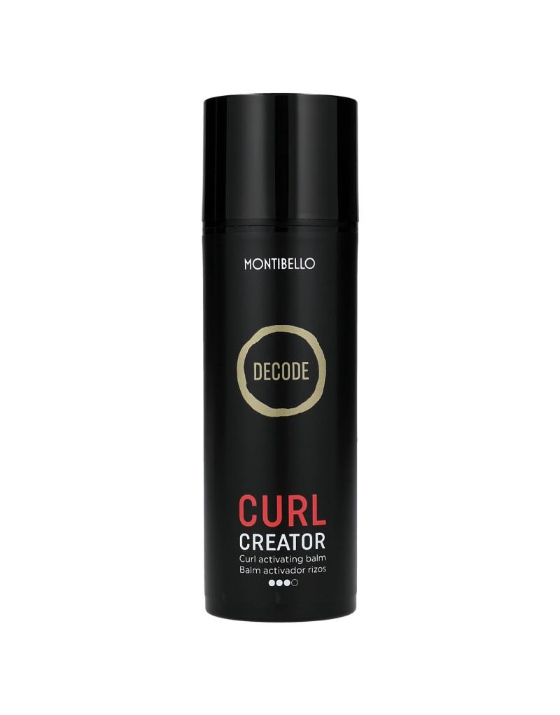 Decode Curl Creator, mocny krem do loków Montibello