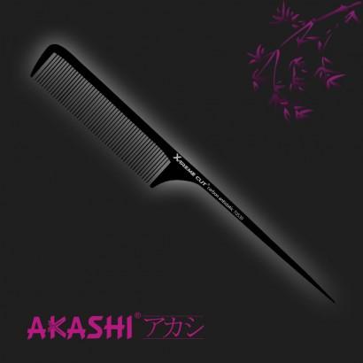 Grzebień Akashi 70539 szpilkowy 239mm Carbon