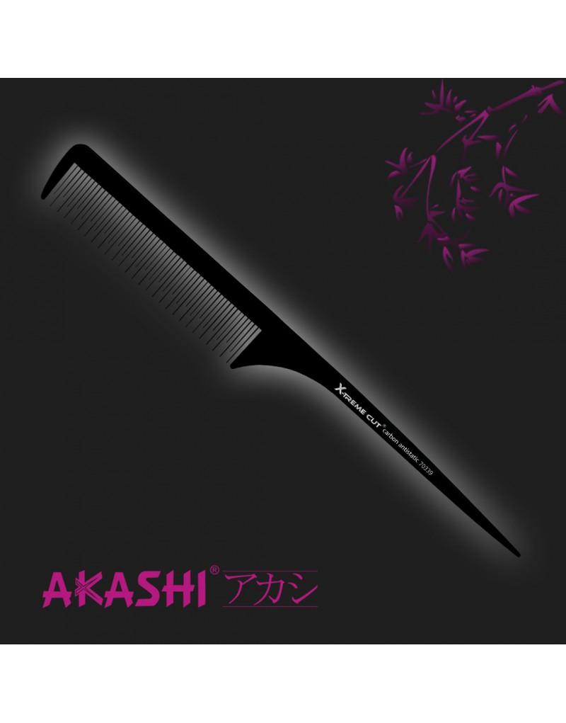 Grzebień Akashi 70339 szpilkowy 235mm Carbon