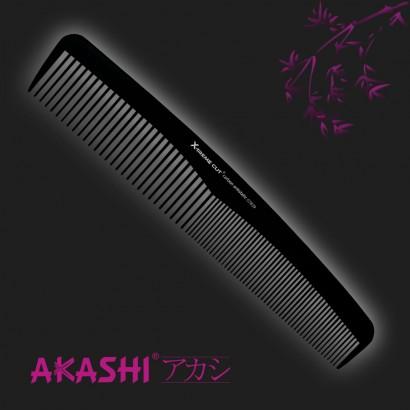 Grzebień Akashi 07839 delikatny 213mm Carbon