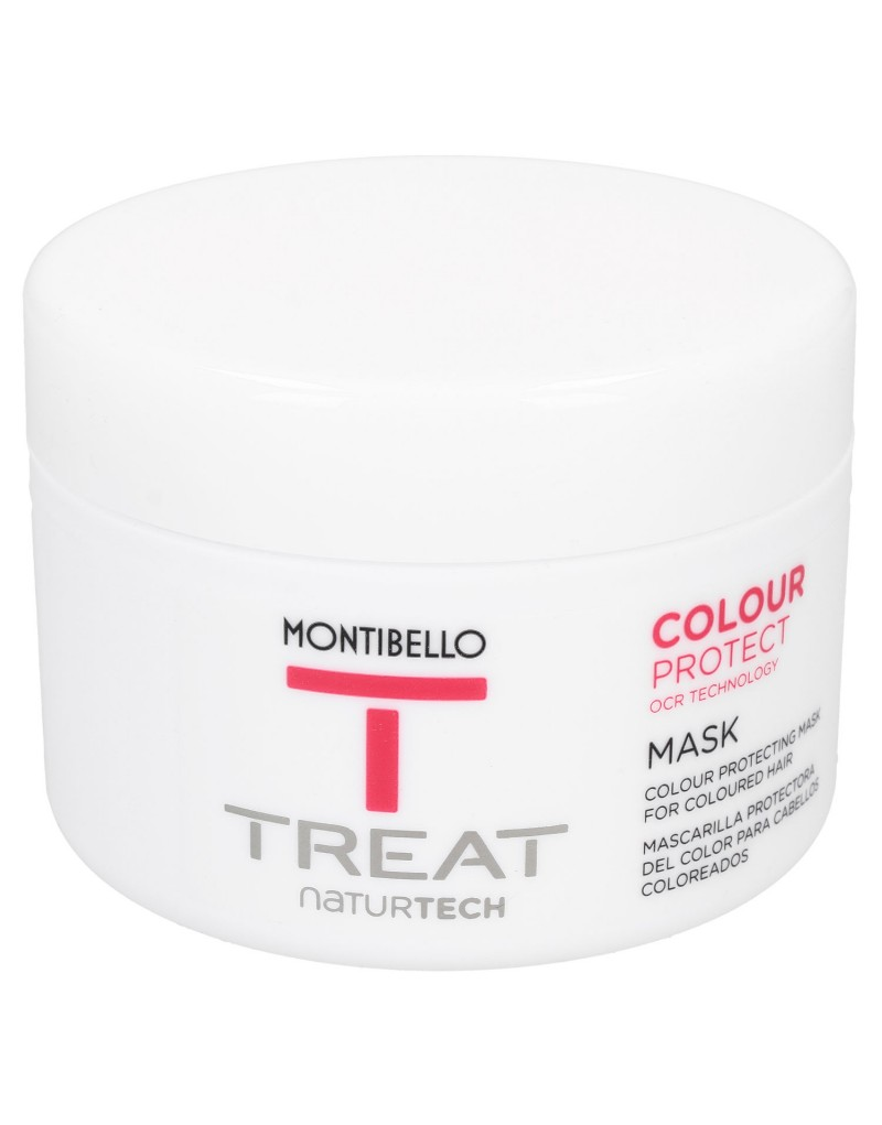 Maska do włosów farbowanych Treat Naturtech Colour Protect Mask Montibello