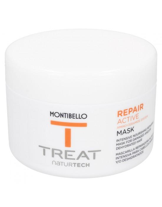 Maska odbudowująca do włosów Treat Naturtech Repair Active Mask Montibello 200 ml