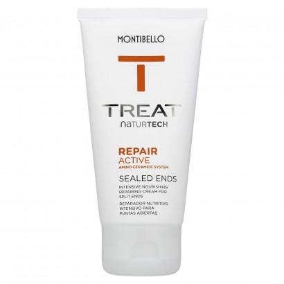 Krem na końcówki włosów bez spłukiwania Treat Naturtech Repai Active Sealed Ends Montibello