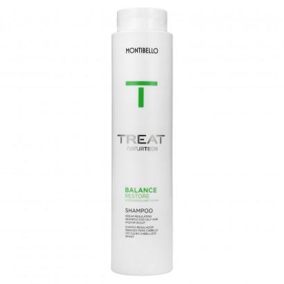 Szampon do włosów przetłuszczających się, Treat Naturtech Balance Restore Montibello 300 ml