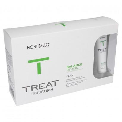 Glinka do włosów przetłuszczających się Treat Naturtech Balance Restore Clay Montibello