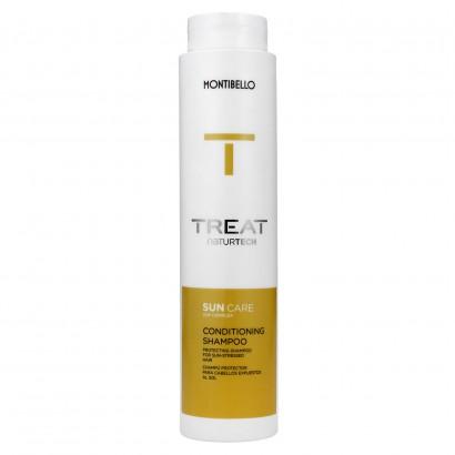 Szampon do włosów po opalaniu, Treat Naturtech Sun Care Conditioning Shampoo Montibello