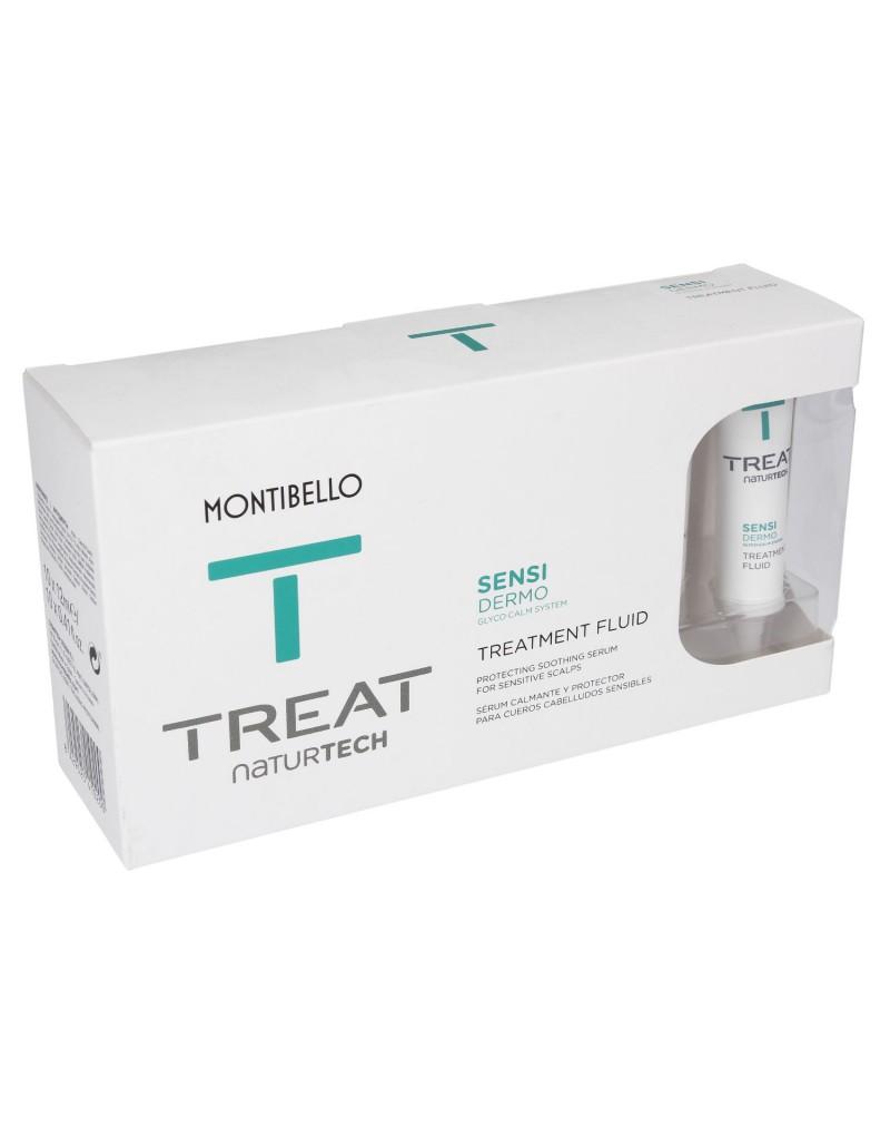 Ampułka do wrażliwej skóry głowy Treat Naturtech Sensi Dermo Treatment Fluid Montibello