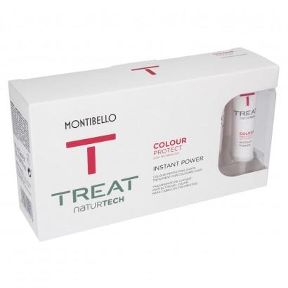 Ampułka do włosów farbowanych Treat Naturtech Colour Protect Instant Power Montibello