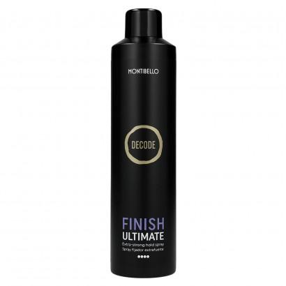 Decode Finish Ultimate, Bardzo mocny lakier do włosów Montibello