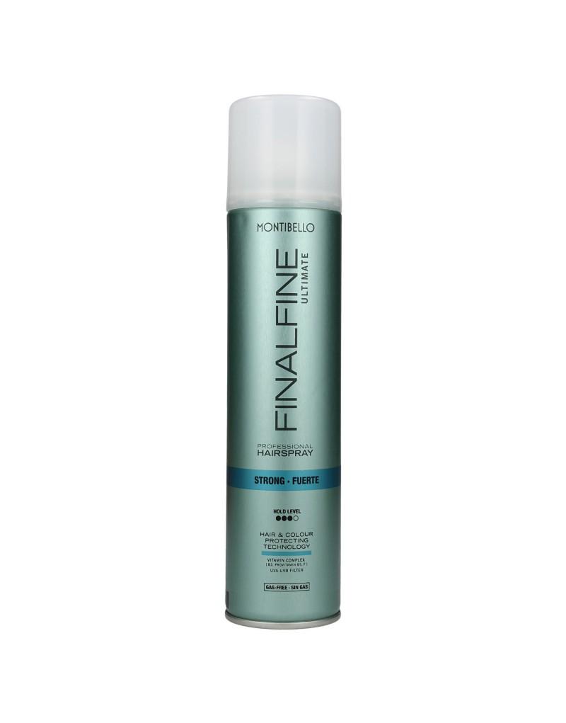 Lakier do włosów Finalfine Ultimate bez gazu 400ml Montibello Strong