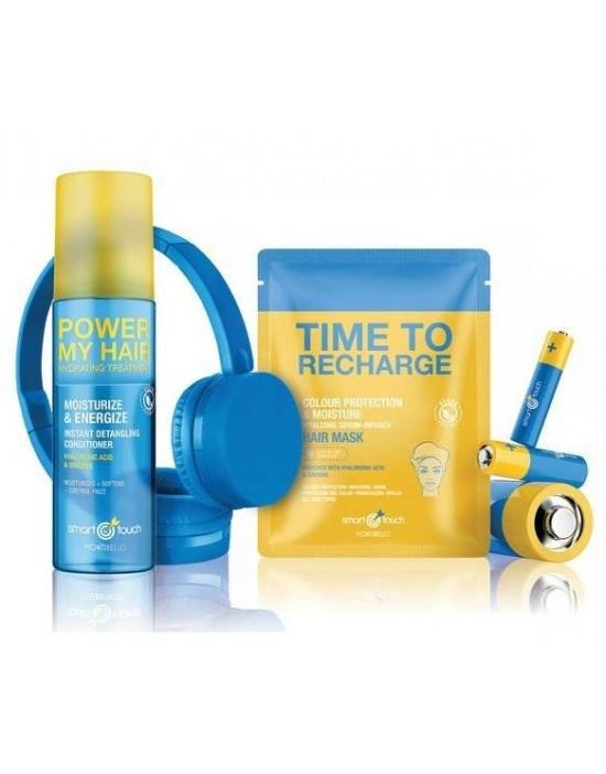 Odżywka Smart Touch Power My Hair 200 ml + Nawilżająca maska Time to Recharge