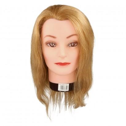 Model głowa blond 30-35cm Mila