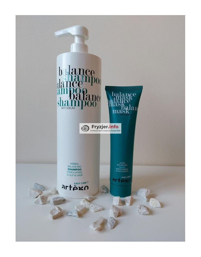 Szampon do włosów przetłuszczających 1000 ml Balanche Artego + Maska Balance 150 ml Artego