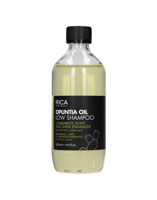 Szampon Rica Opuntia Oil Low Shampoo, Szampon niskopieniący, nadający połysk