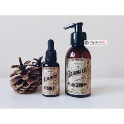 Olejek do brody Beardburys, szampon do brody Beardburys