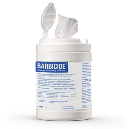 chusteczki Barbicide