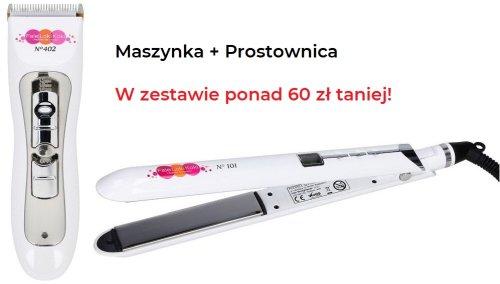 Fale Loki Koki zestaw: Maszynka 402 _ prostownica 101 Premium