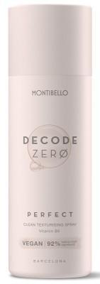 Decode Zero Perfect Spray, Spray do włosów utrwalający i nadający objętość Montibello